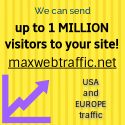 Get 1 million visitors to your site!